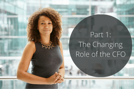 Part 1- The Changing Role of the CFO