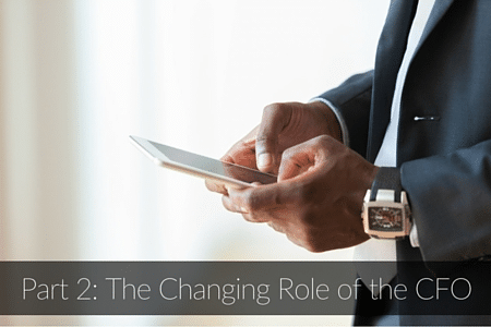 Part 2- The Changing Role of the CFO